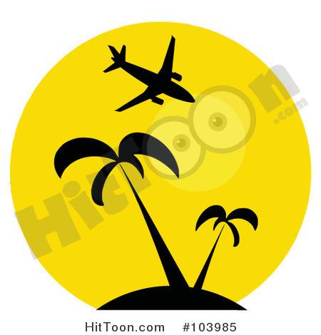 450x470 Airplane Clip Art