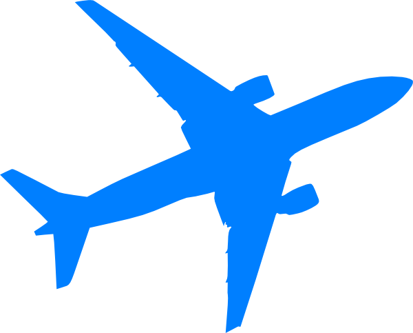 600x483 Plane Clipart Black And White