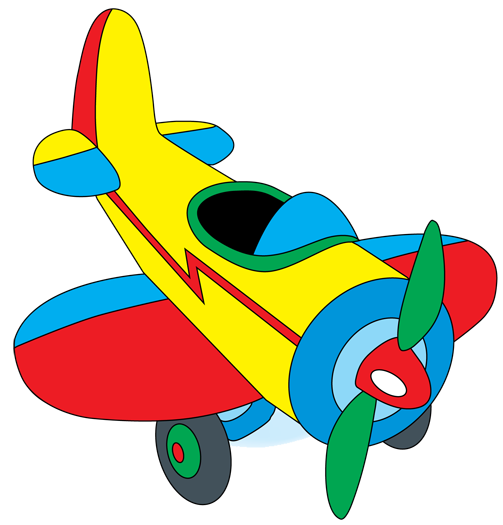 503x525 Graphic Design Clip Art, Airplanes And Toy
