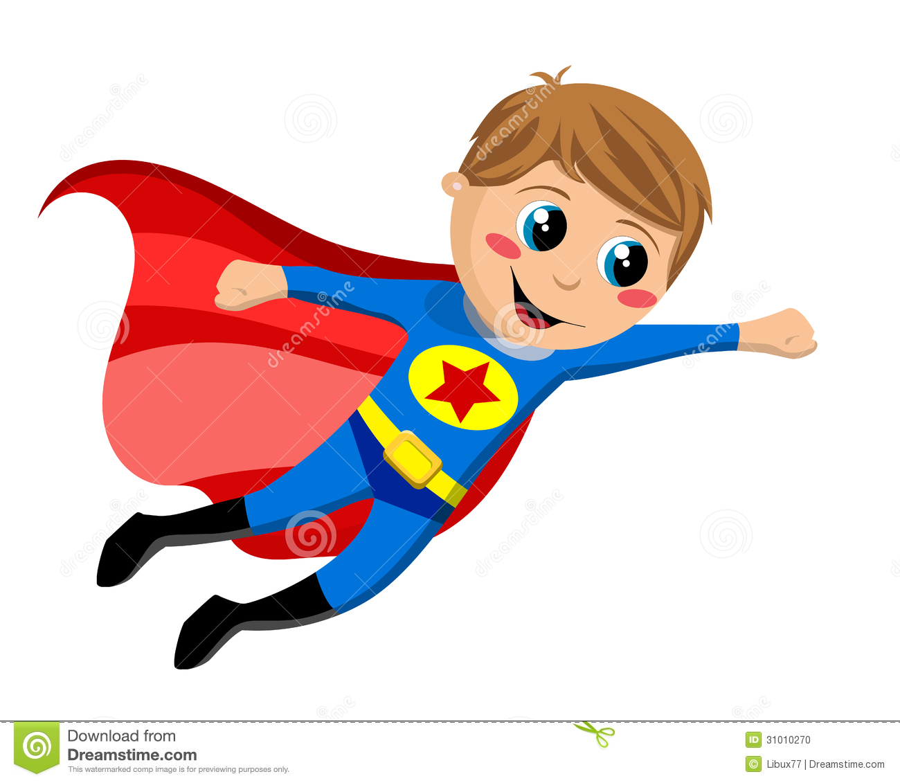 1300x1131 Superhero In Flight Clipart