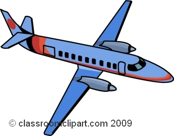 350x274 Airplane Clip Art