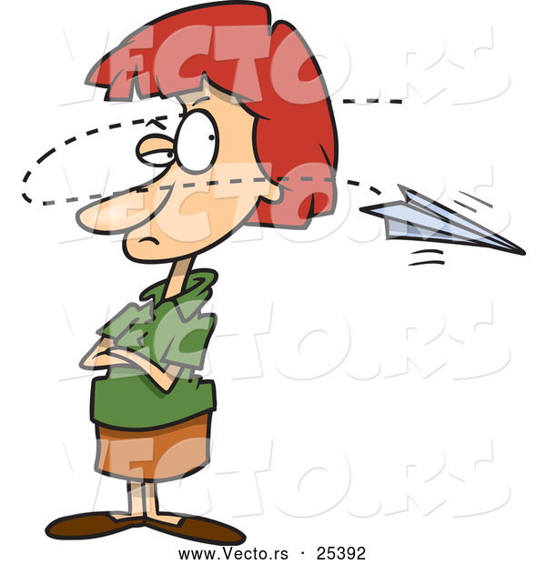 600x620 Clip Art Distracted Easily Clipart