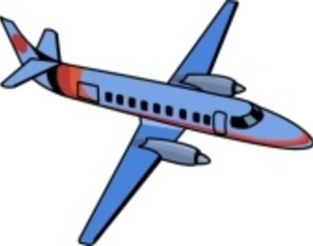 609x480 Airplane Clip Art
