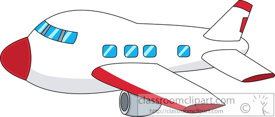 550x235 Airplane Clipart Free Cliparts