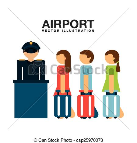 450x470 Airport Terminal Design, Vector Illustration Eps10 Graphic Vectors