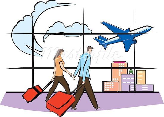 550x394 Clip Art Airport Carriers Clipart