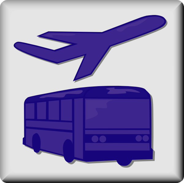 600x599 Hotel Icon Airport Shuttle Clip Art