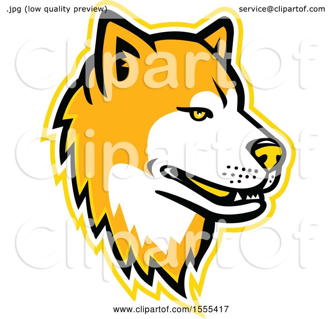 1080x1024 Clipart Of A Retro Akita Dog Mascot Head