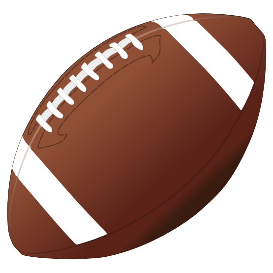555x555 Football Clipart Free