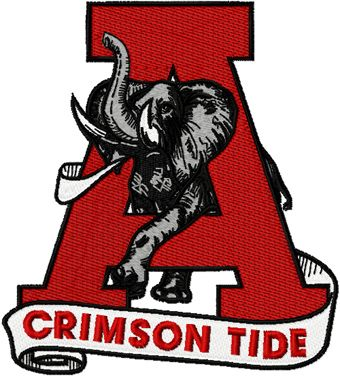340x377 University Of Alabama Clip Art Alabama University Crimson Tide
