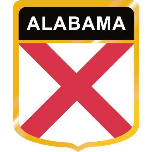 500x500 Alabama Flag Crest Clip Art