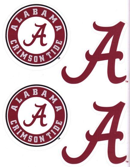 433x555 Alabama Football Font