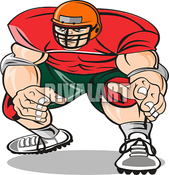 349x361 Football Clipart Defence