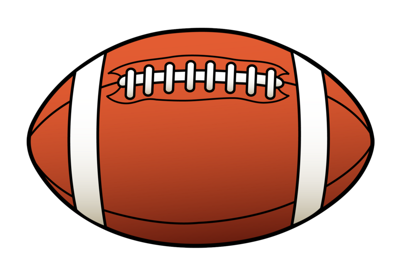 800x517 Football Clipart Picture
