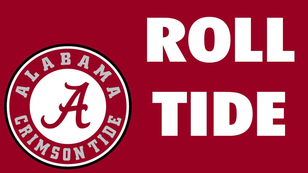 1024x576 Alabama Crimson Tide Logo Wallpaper