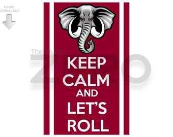 340x270 Alabama Elephant Print 1892 Fan Art Digital Clipart