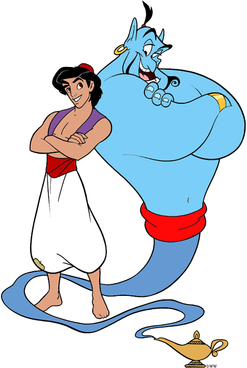 490x730 Aladdin And Friends Clip Art Disney Clip Art Galore