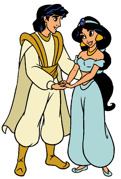 410x606 Aladdinandjasmine