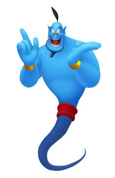 236x366 Genie. Voiced By Robin Williams. Watched The Night Before His