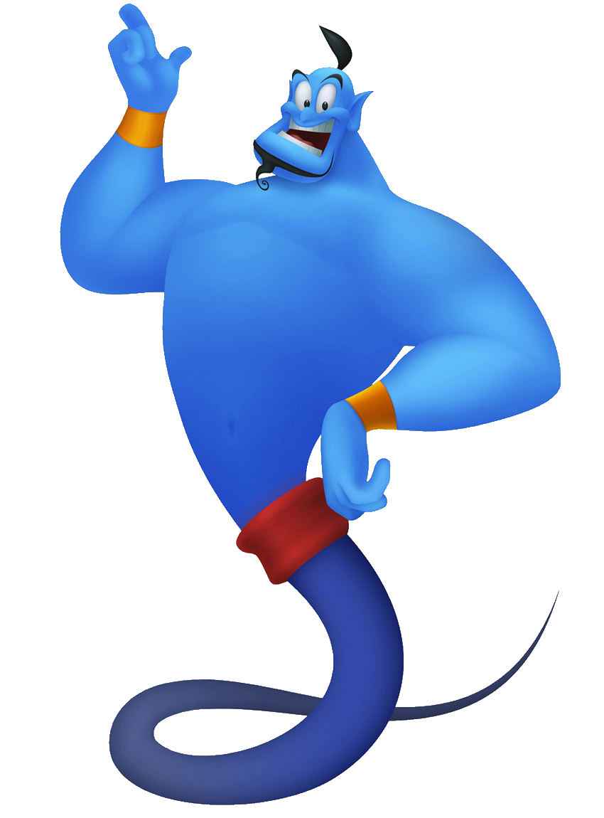 850x1150 Disney Genie Silhouette