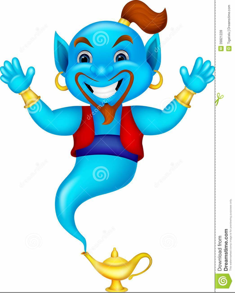 483x600 Aladdin Genie Clipart Free Images