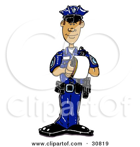 450x470 Clipart Illustration Of A Man And Woman, Alamo Police Partners