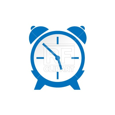 400x400 Alarm Clock Icon Free Download Vector Clip Art Image