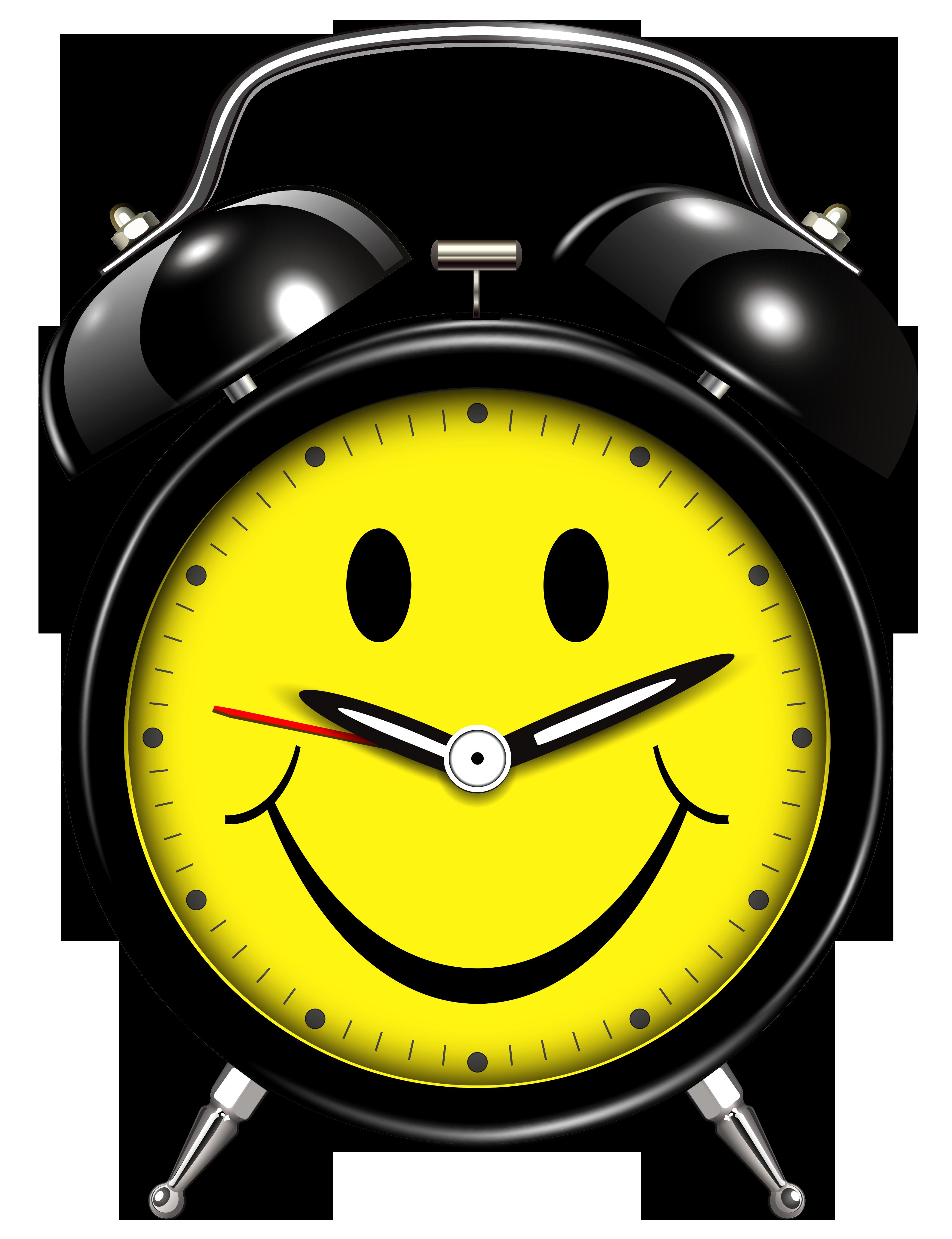 3167x4123 Smiling, Clock, Alarm Transparent Background
