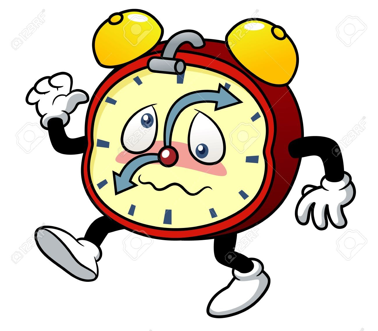 1300x1137 Alarm Clock Red Png Clip Art In Cute Clipart