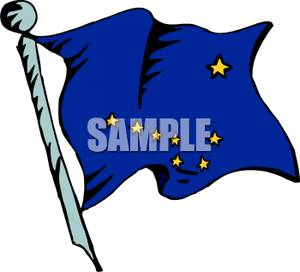 300x272 State Flag Of Alaska