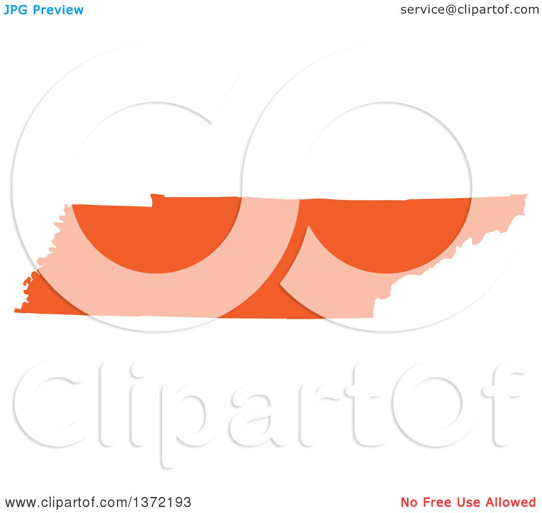 1080x1024 Clipart An Orange Silhouetted Map Shape The State