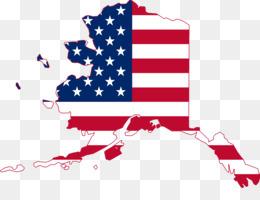 260x200 Flag Of Alaska Map Flag Of The United States Clip Art