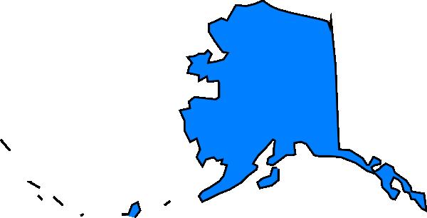 600x306 Alaska Clip Art Map Clipart Panda
