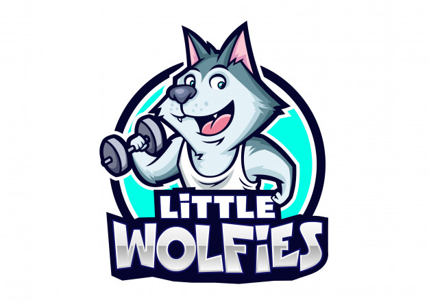 626x442 Little Wolfies Mascot Design Vector Premium Download