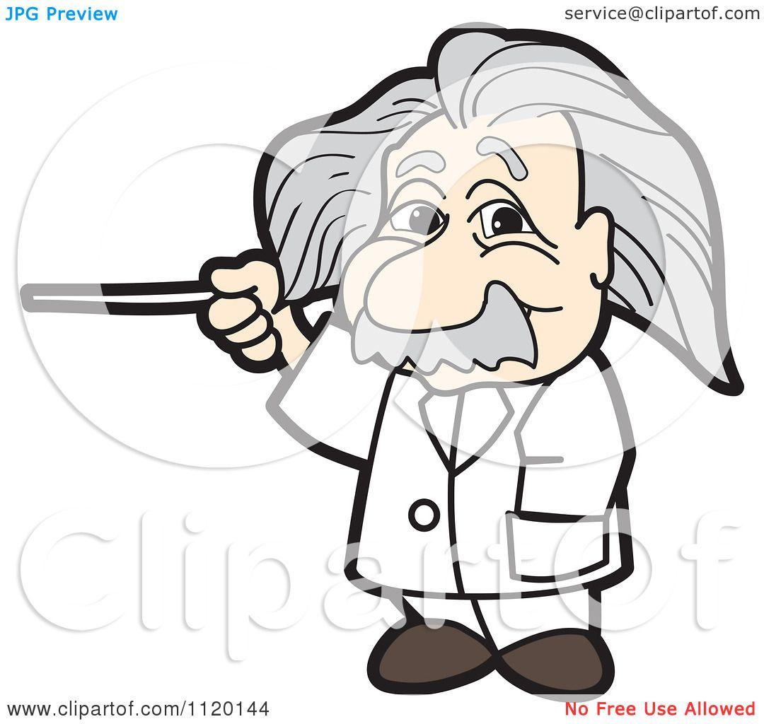 1080x1024 Cartoon Of An Albert Einstein
