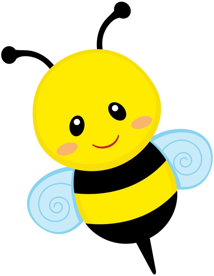 696x900 Bee Clipart Star
