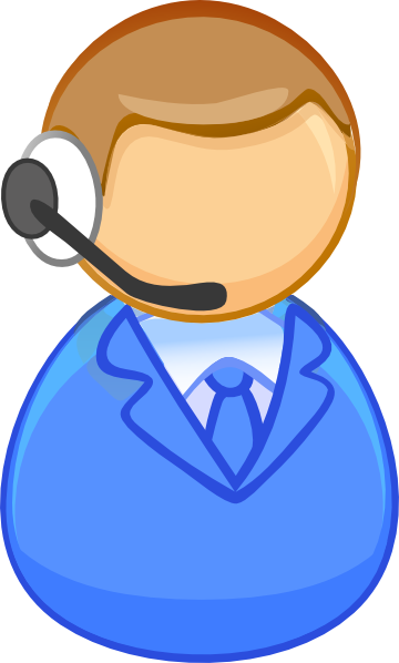 360x598 Customer Service Clipart