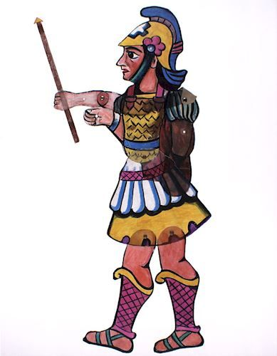 389x500 Clipart Of Alexander The Great