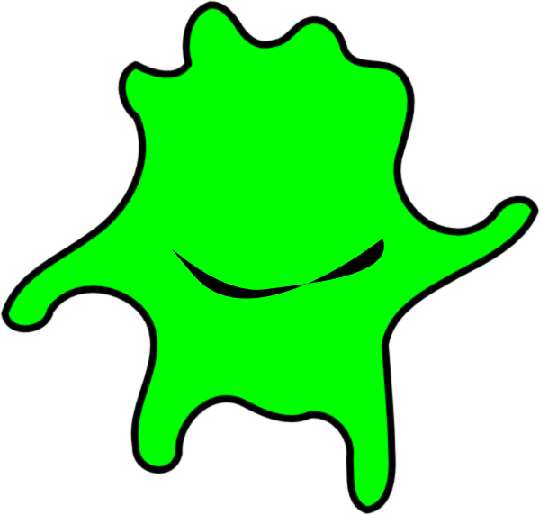 600x572 Happy Green Algae Clip Art