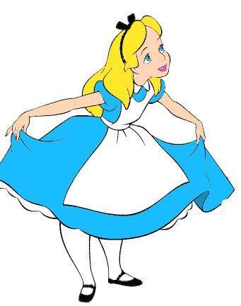 341x433 Free Alice In Wonderland Clip Art Clipart