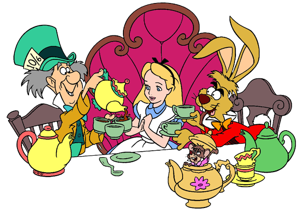 600x427 Alice In Wonderland Teacup Clipart