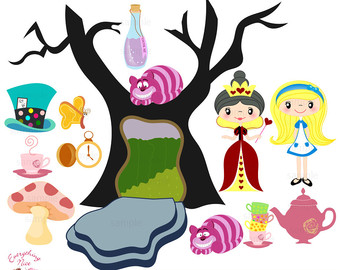 340x270 Alice In Wonderland Clip Art