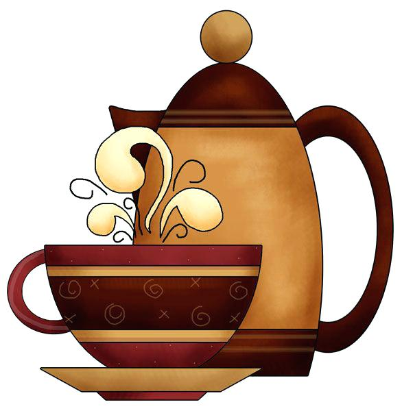 586x600 Tea Party Clip Art Free Clinicaltravel Work
