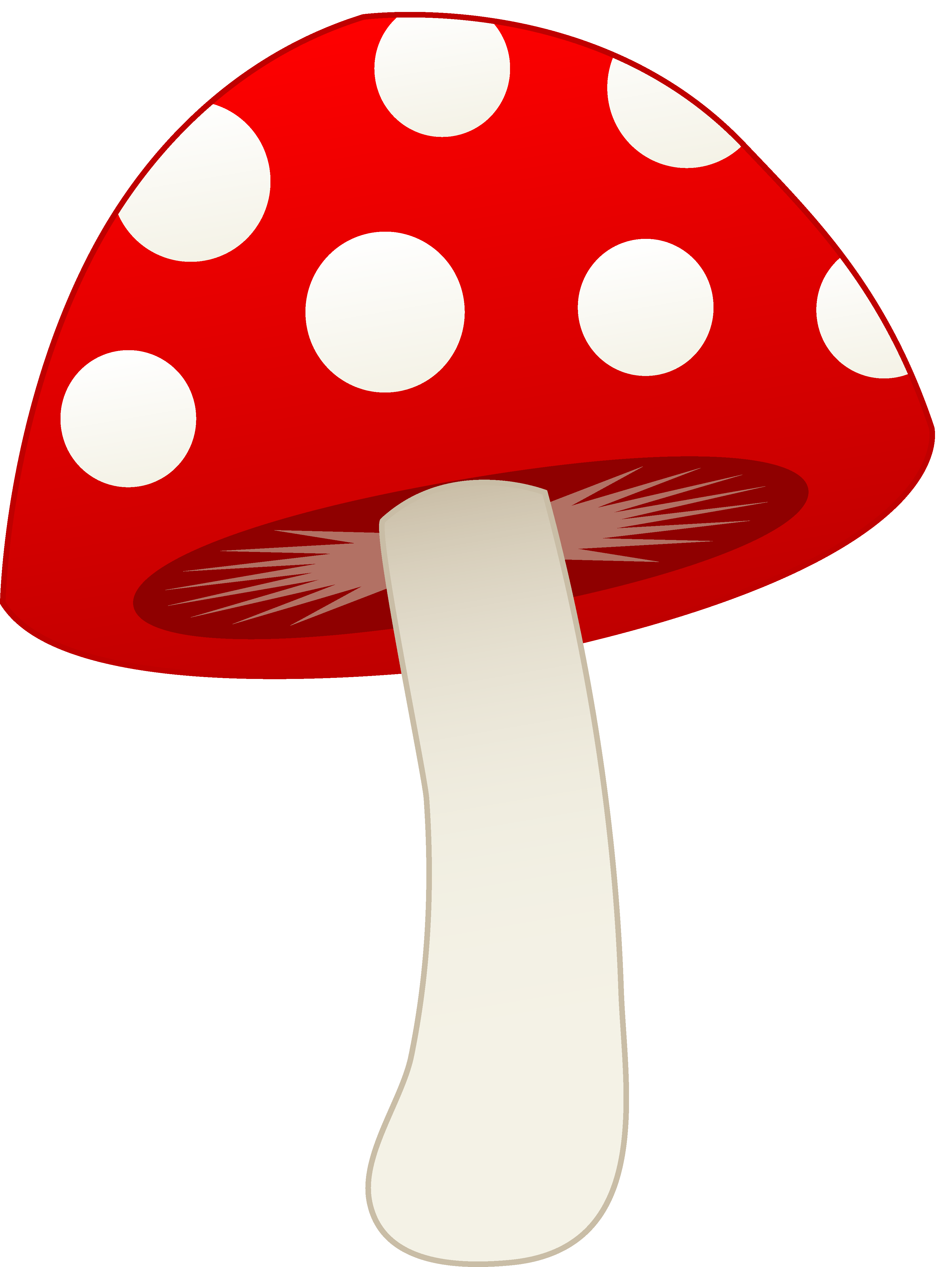3584x4768 Alice In Wonderland Mushroom Clipart