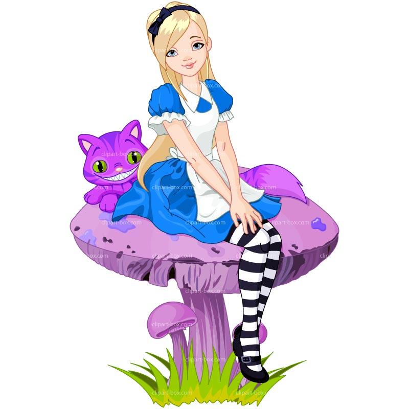 800x800 Alice In Wonderland Clip Art Digital Graphic Alice