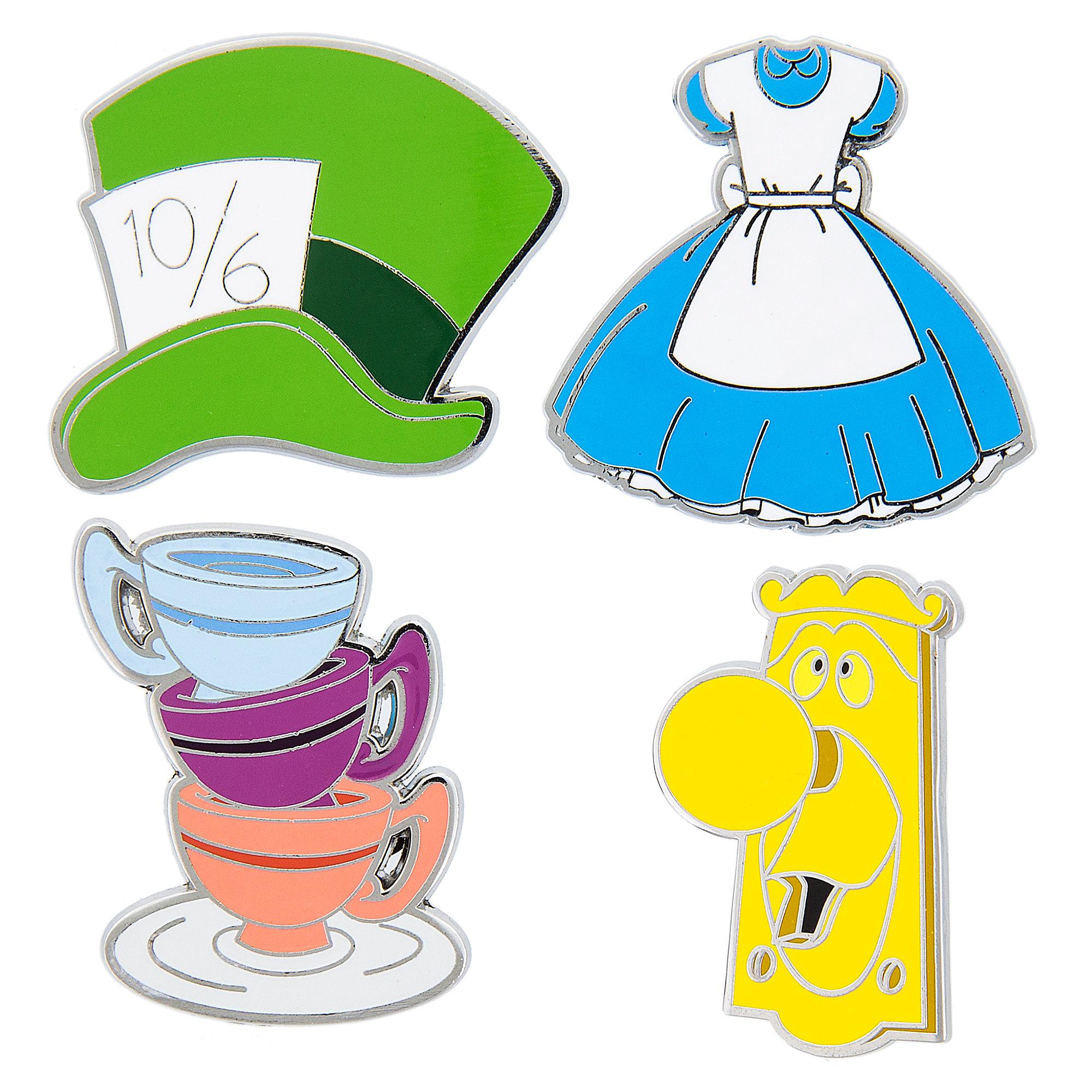 2000x2000 Alice In Wonderland Pin Trading Flair Set Shopdisney