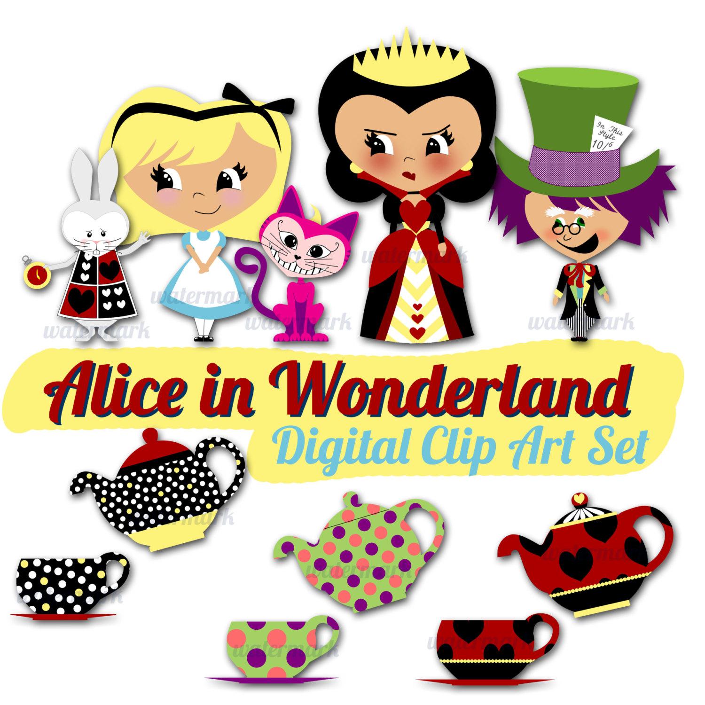 1500x1500 Image Of Alice In Wonderland Clipart