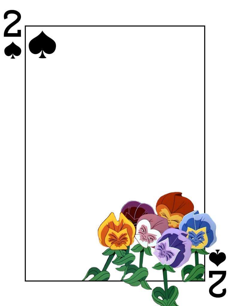 768x1024 Alice In Wonderland Clipart Flower Garden