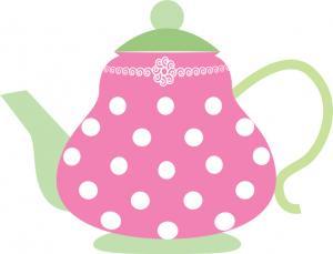 Alice In Wonderland Tea Party Clipart