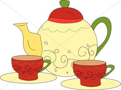 388x290 Tea Party Clipart Morning Tea